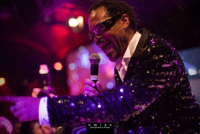 Hugh, fantastischer Sänger und Entertainer mit Candy Dulfer, Mothers Finest, James Brown
